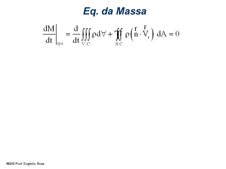 Eq. da Massa