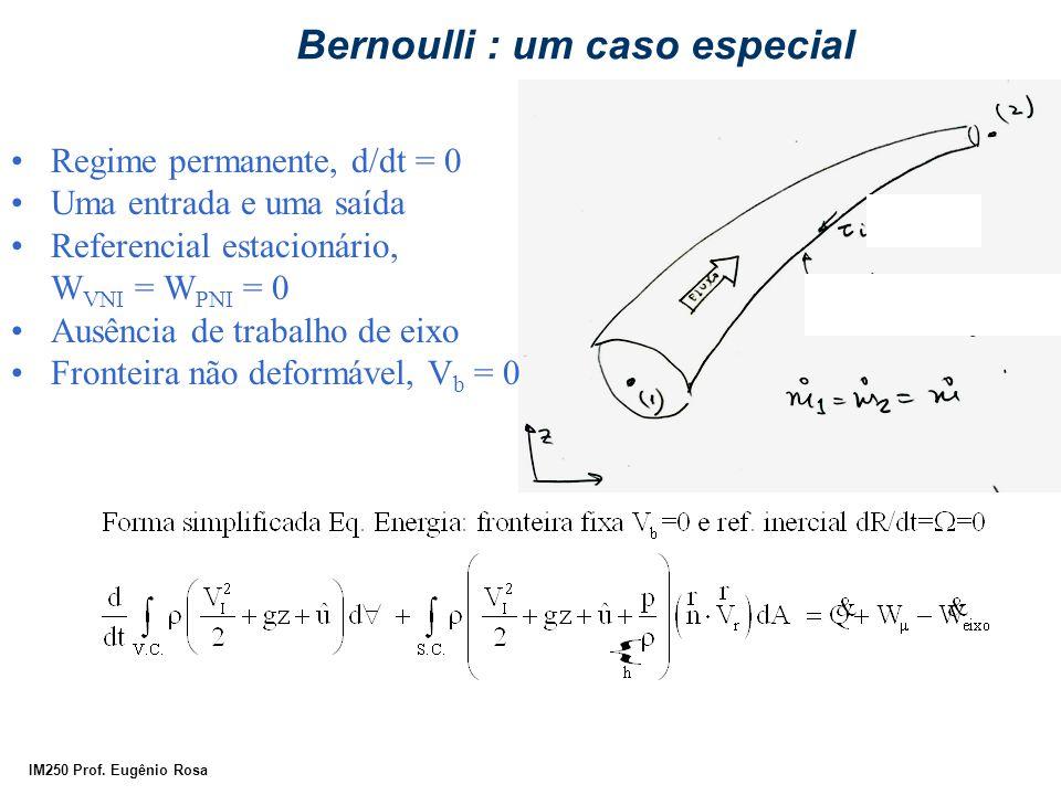 Bernoulli : um caso especial