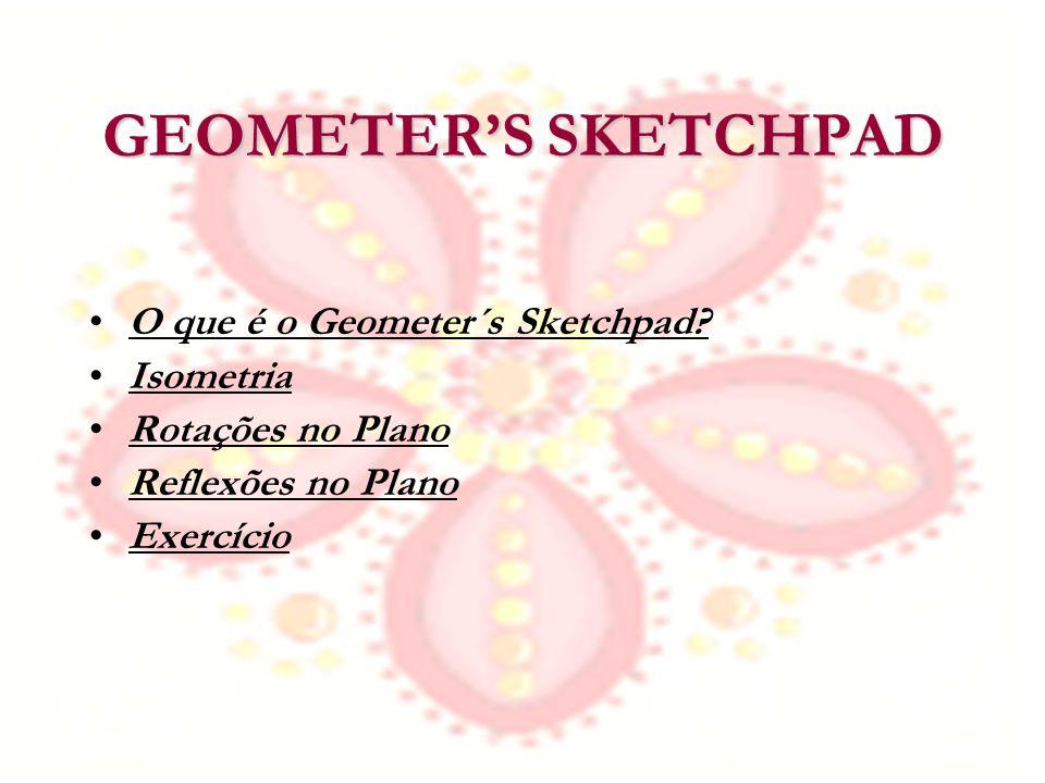 GEOMETER'S SKETCHPAD O que é o Geometer´s Sketchpad Isometria
