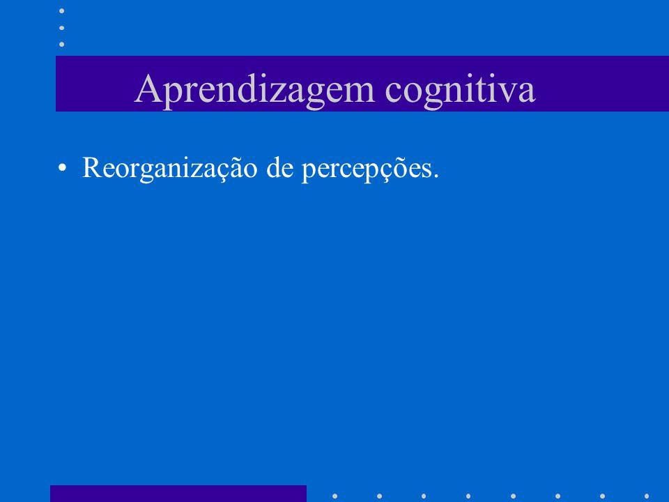 Aprendizagem cognitiva