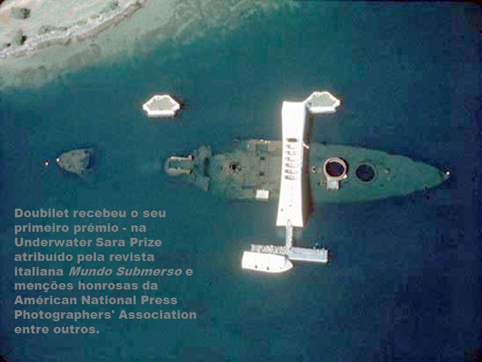 Doubilet recebeu o seu primeiro prémio - na Underwater Sara Prize atribuído pela revista italiana Mundo Submerso e menções honrosas da Américan National Press Photographers Association entre outros.