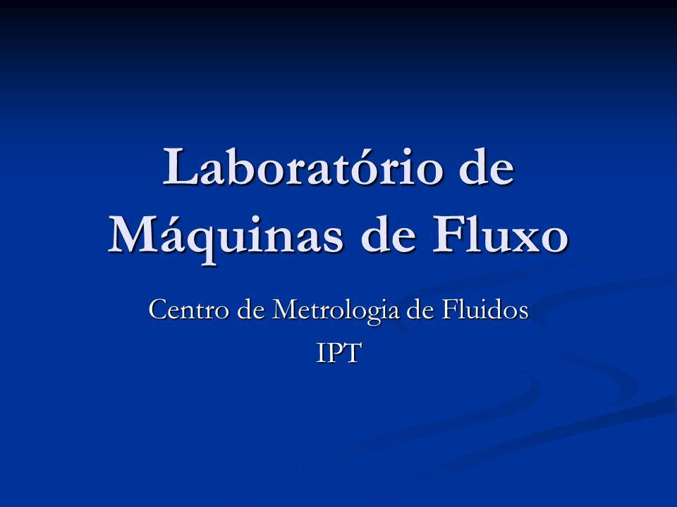 Laboratório de Máquinas de Fluxo
