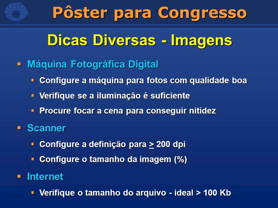 Dicas Diversas - Imagens