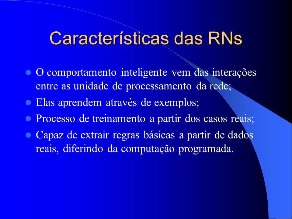 Características das RNs