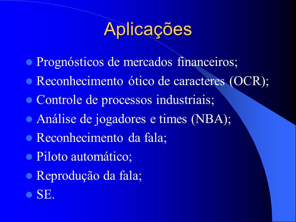 Aplicações Prognósticos de mercados financeiros;