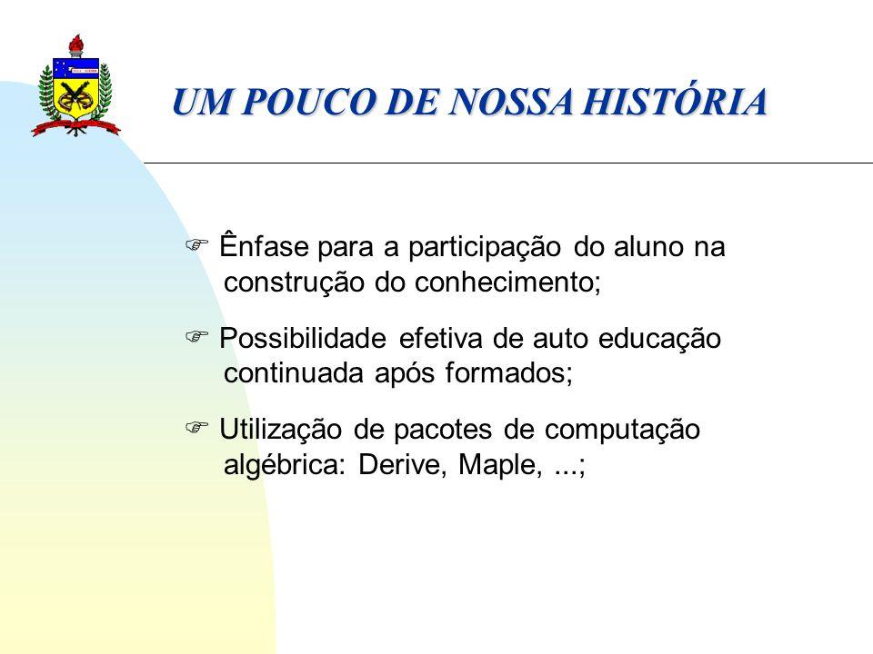 UM POUCO DE NOSSA HISTÓRIA