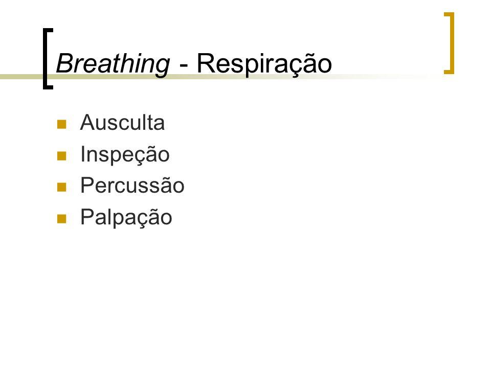 Breathing - Respiração