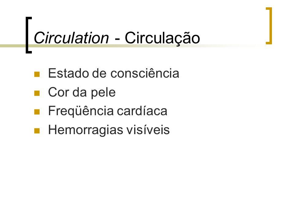 Circulation - Circulação