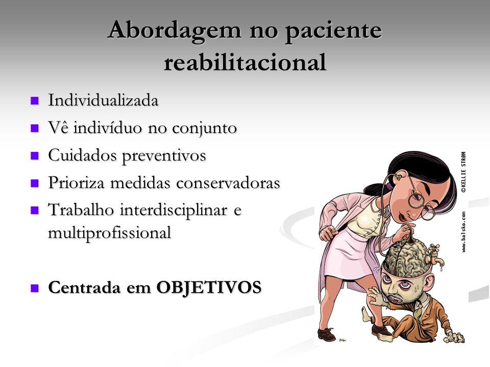 Abordagem no paciente reabilitacional