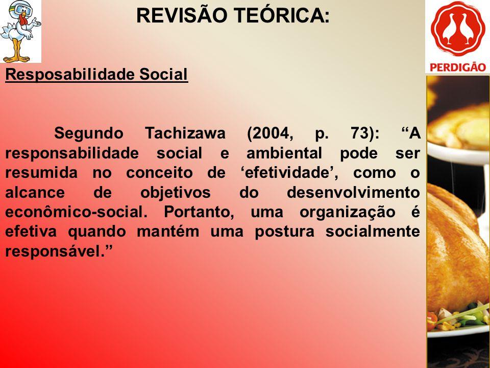 REVISÃO TEÓRICA: Resposabilidade Social