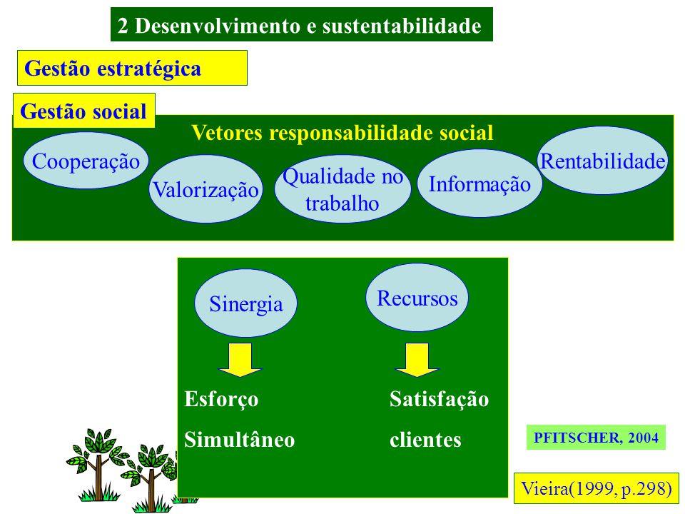 2 Desenvolvimento e sustentabilidade Vetores responsabilidade social