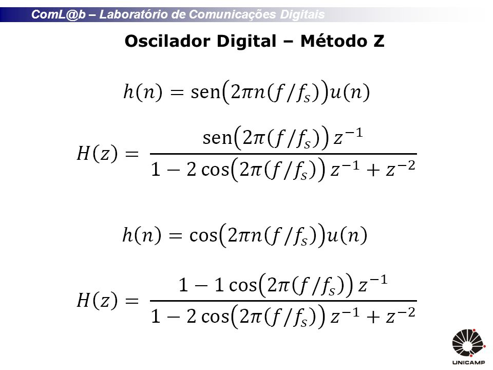 Oscilador Digital – Método Z