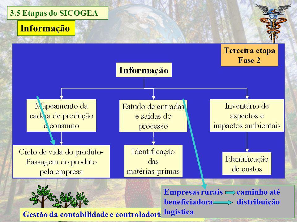 Informação 3.5 Etapas do SICOGEA