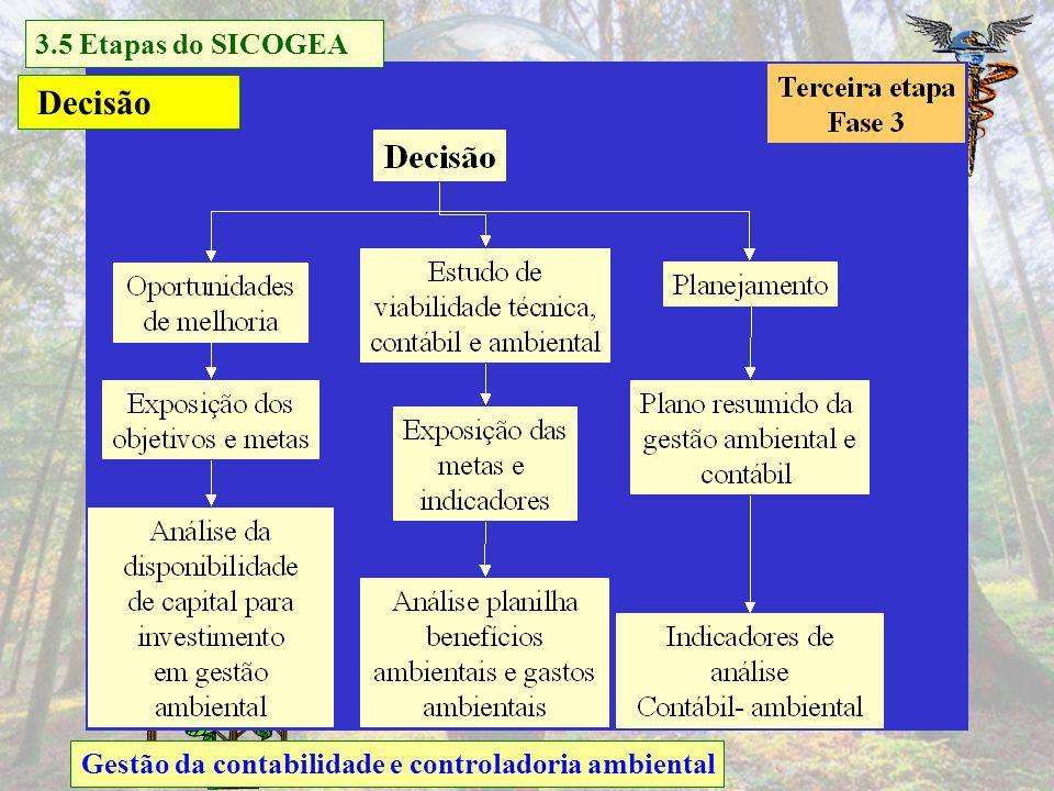Decisão 3.5 Etapas do SICOGEA