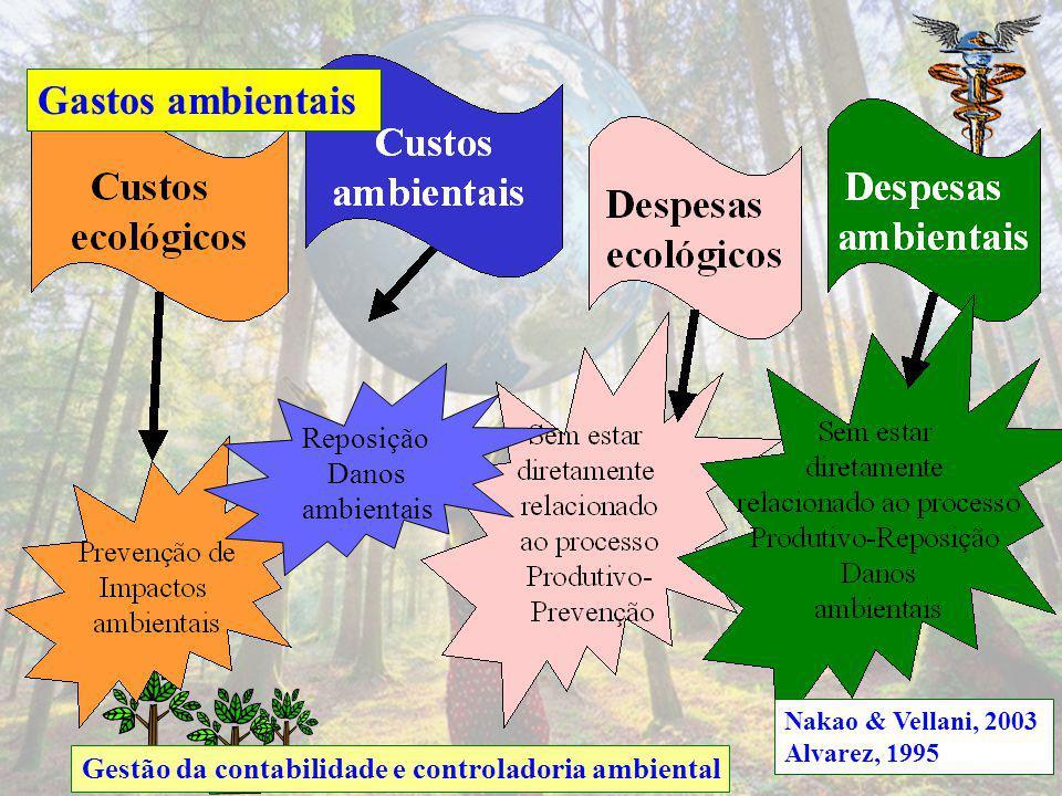 Gastos ambientais Reposição Danos ambientais