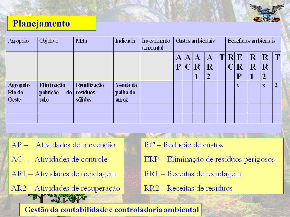 Planejamento Gestão da contabilidade e controladoria ambiental