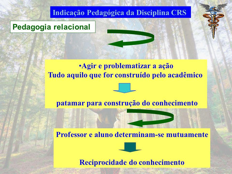 Indicação Pedagógica da Disciplina CRS