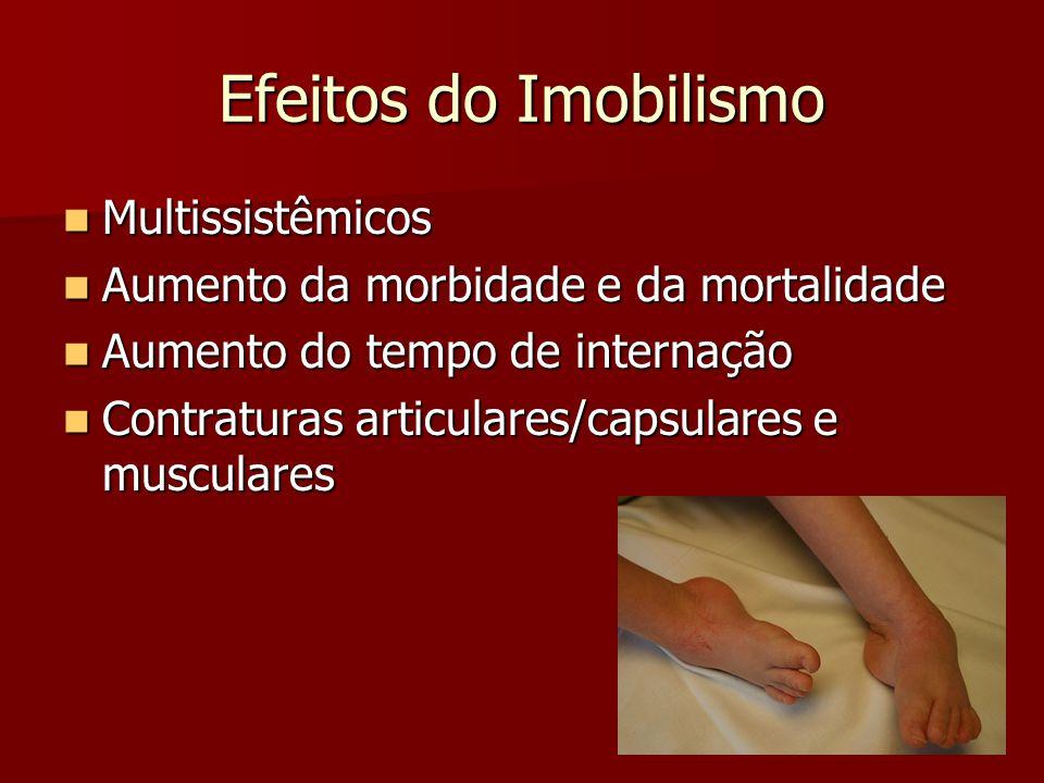 Efeitos do Imobilismo Multissistêmicos