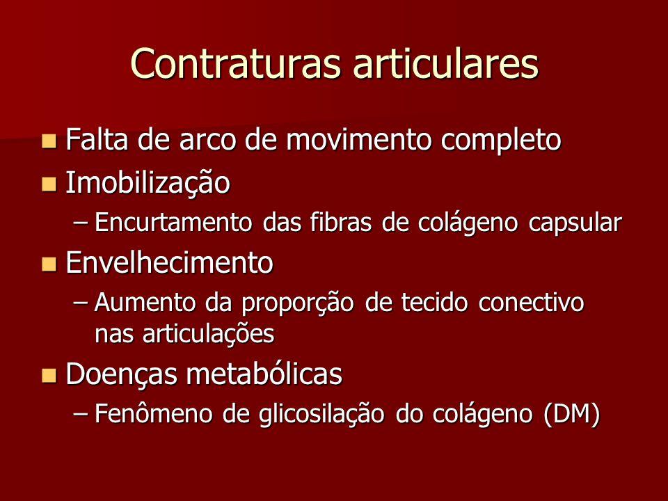 Contraturas articulares