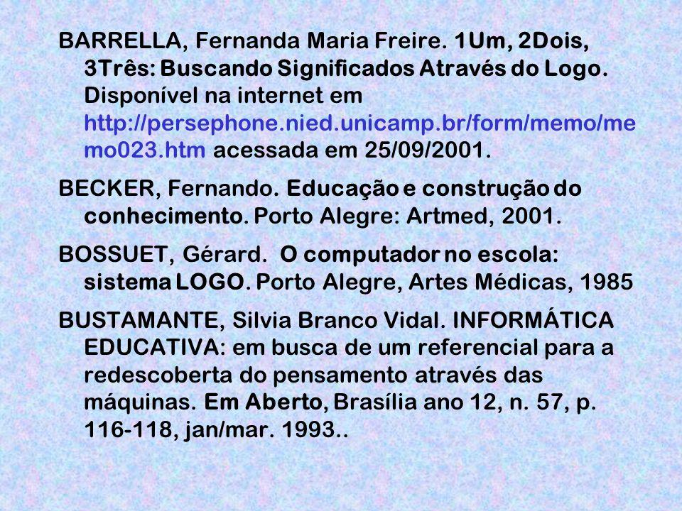 BARRELLA, Fernanda Maria Freire