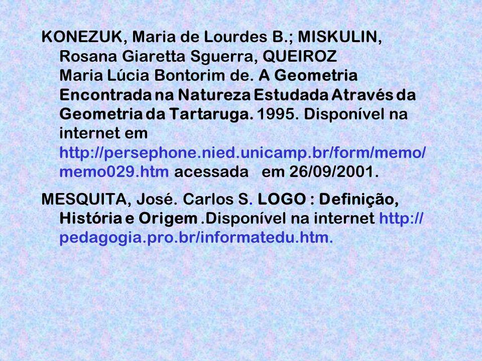KONEZUK, Maria de Lourdes B