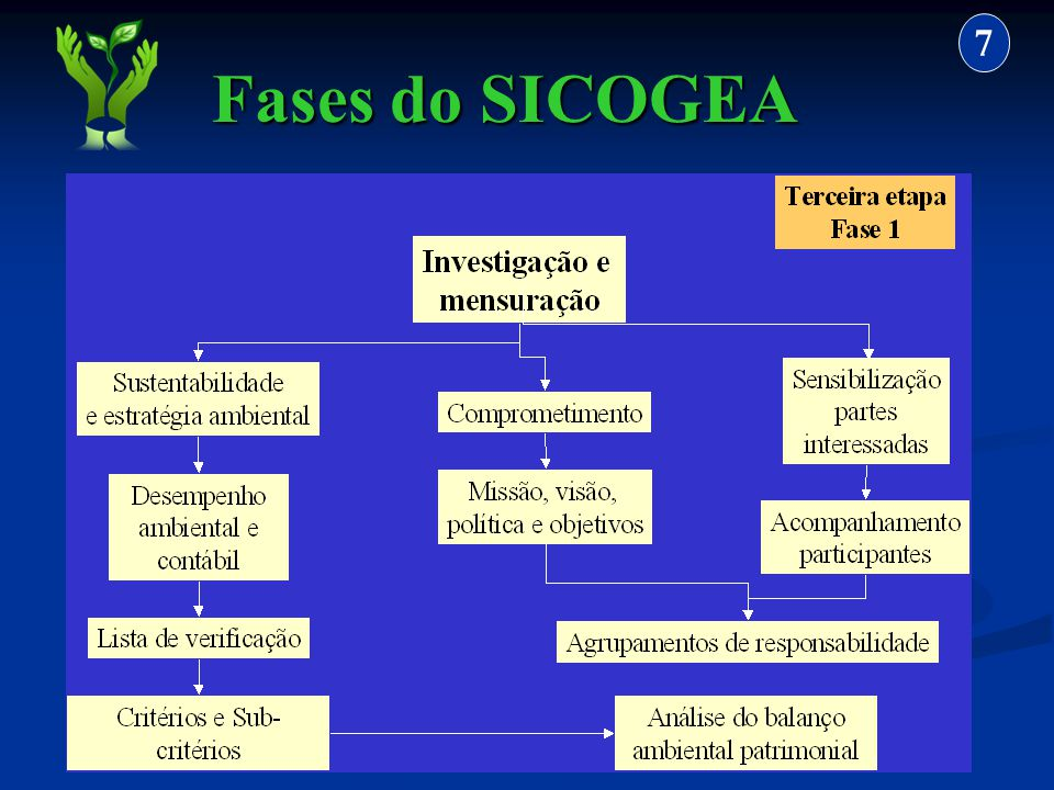 7 Fases do SICOGEA 34