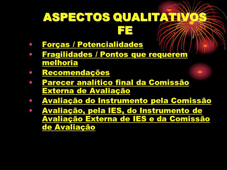 ASPECTOS QUALITATIVOS FE