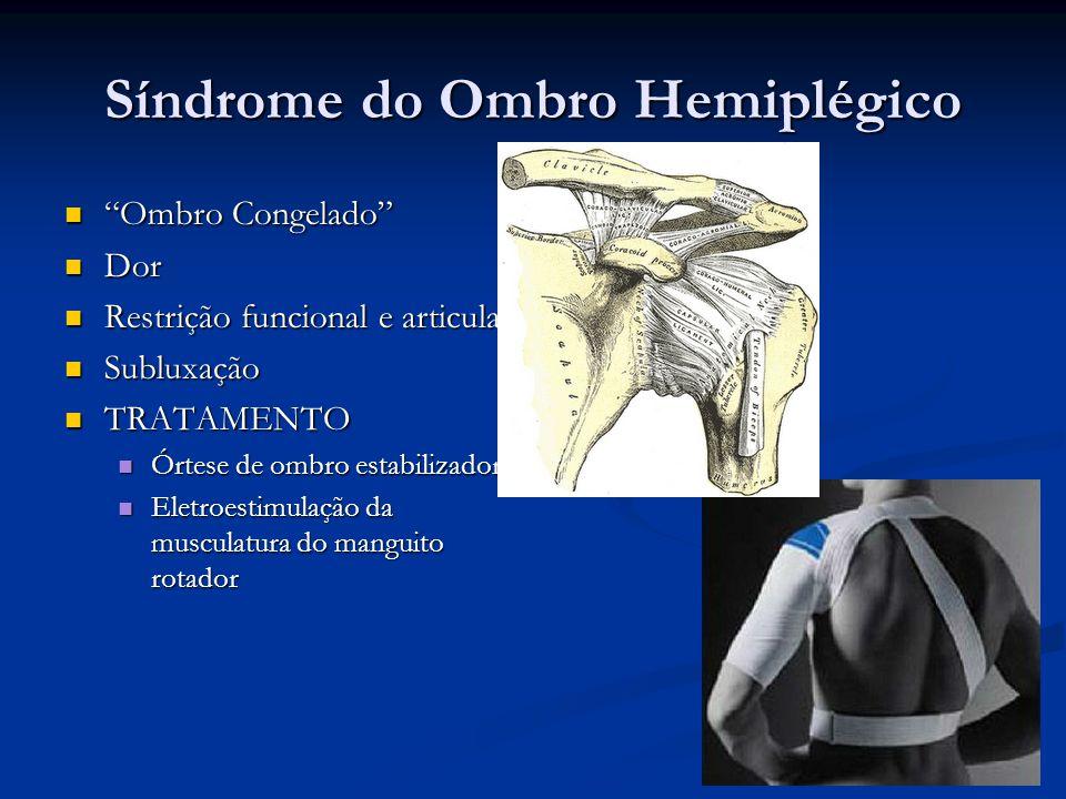 Síndrome do Ombro Hemiplégico