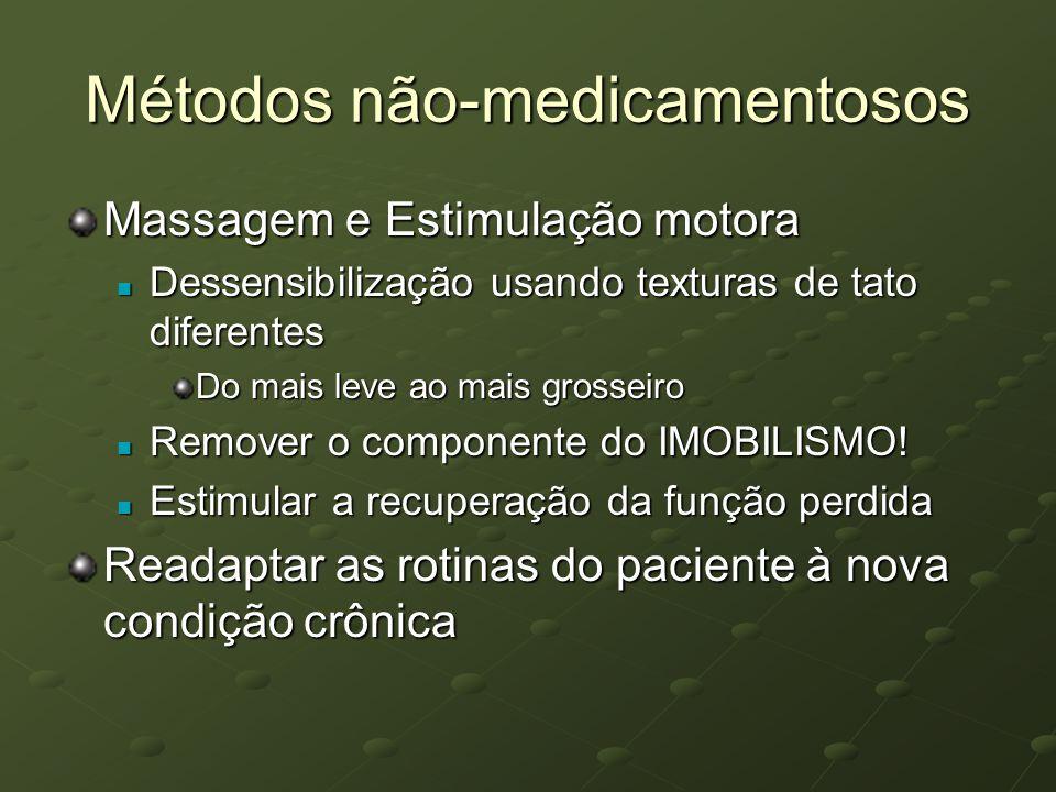 Métodos não-medicamentosos