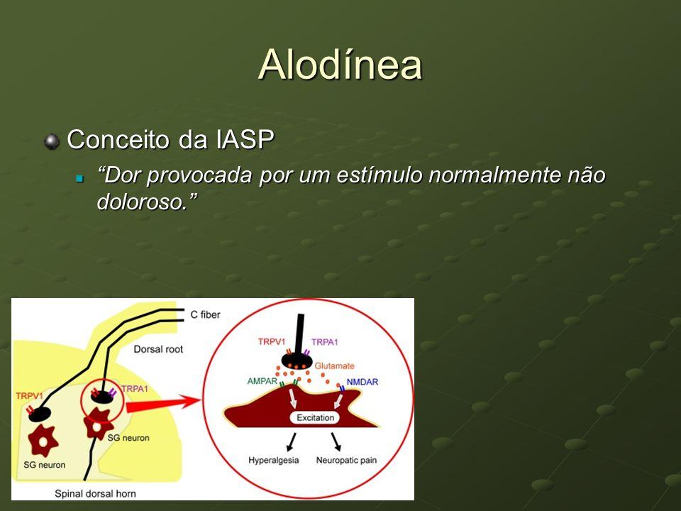 Alodínea Conceito da IASP