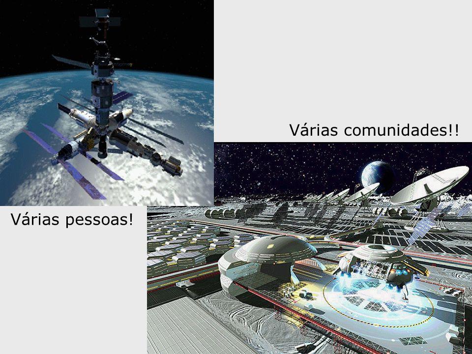 Várias comunidades!! Várias pessoas!