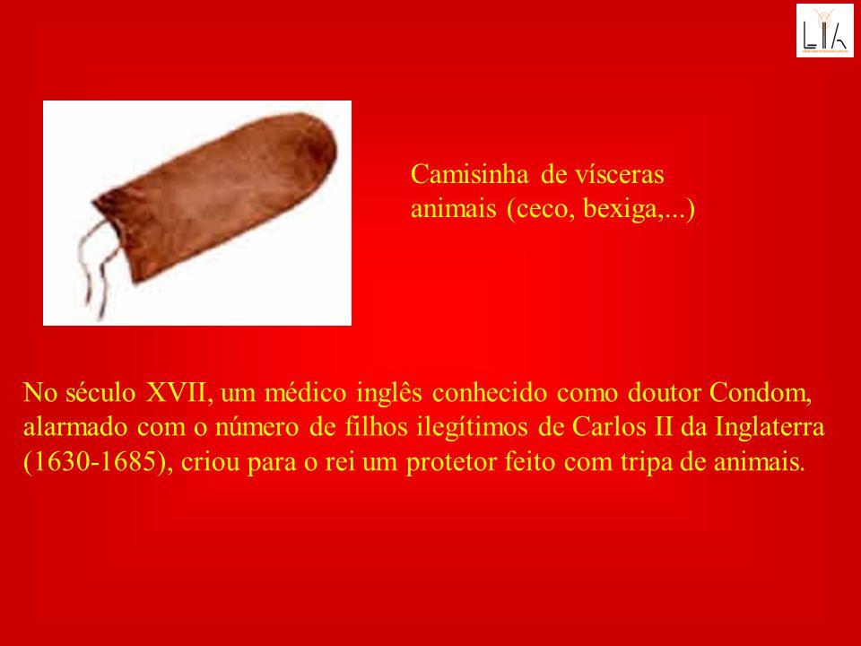 Camisinha de vísceras animais (ceco, bexiga,...)