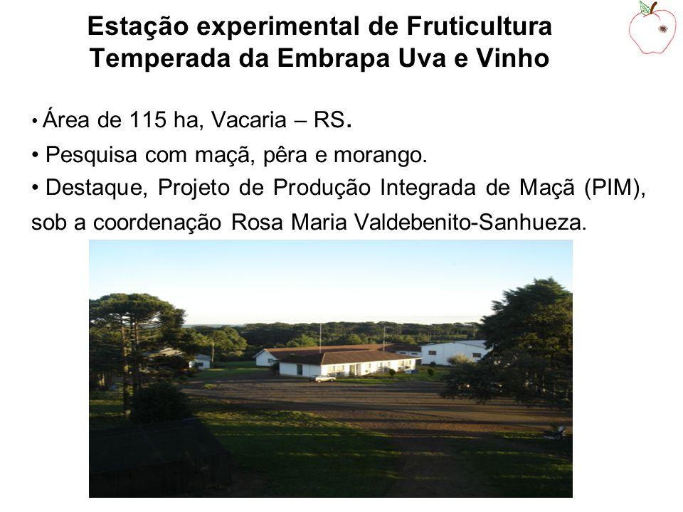 Estação experimental de Fruticultura Temperada da Embrapa Uva e Vinho