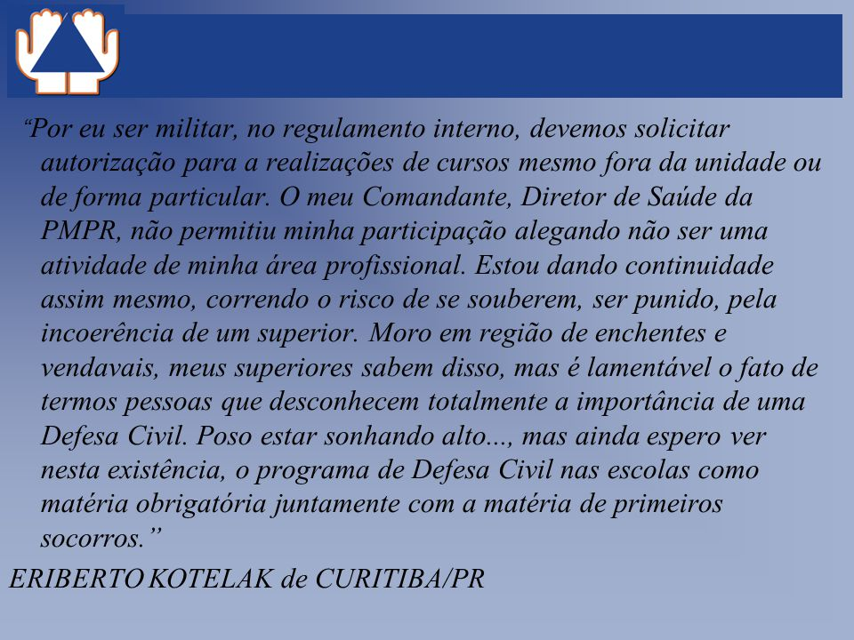 ERIBERTO KOTELAK de CURITIBA/PR