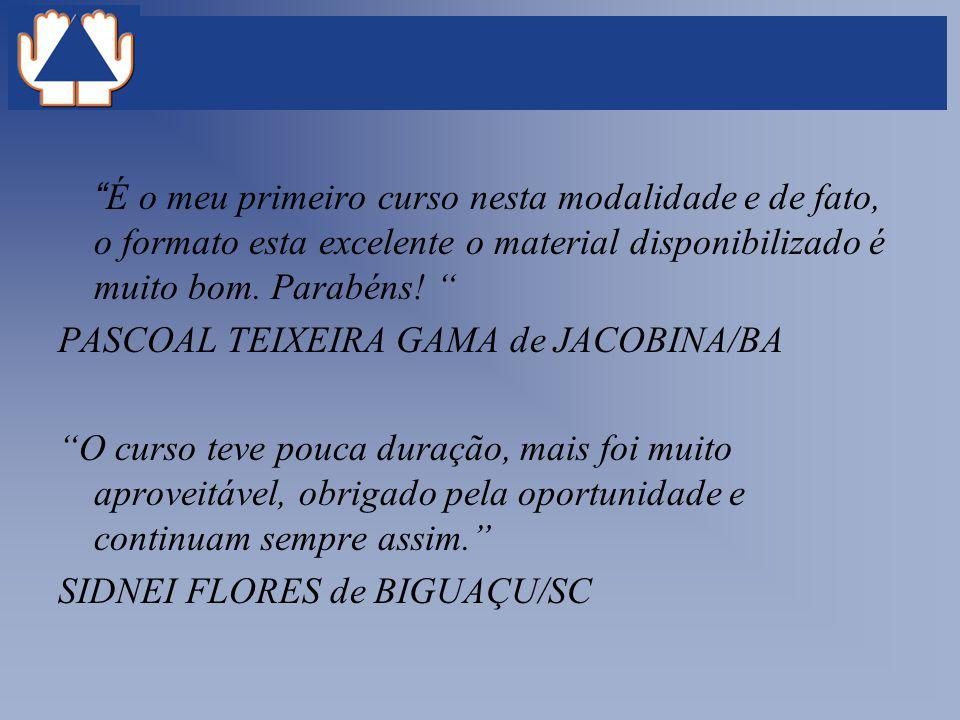 PASCOAL TEIXEIRA GAMA de JACOBINA/BA