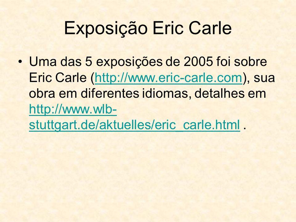 Exposição Eric Carle