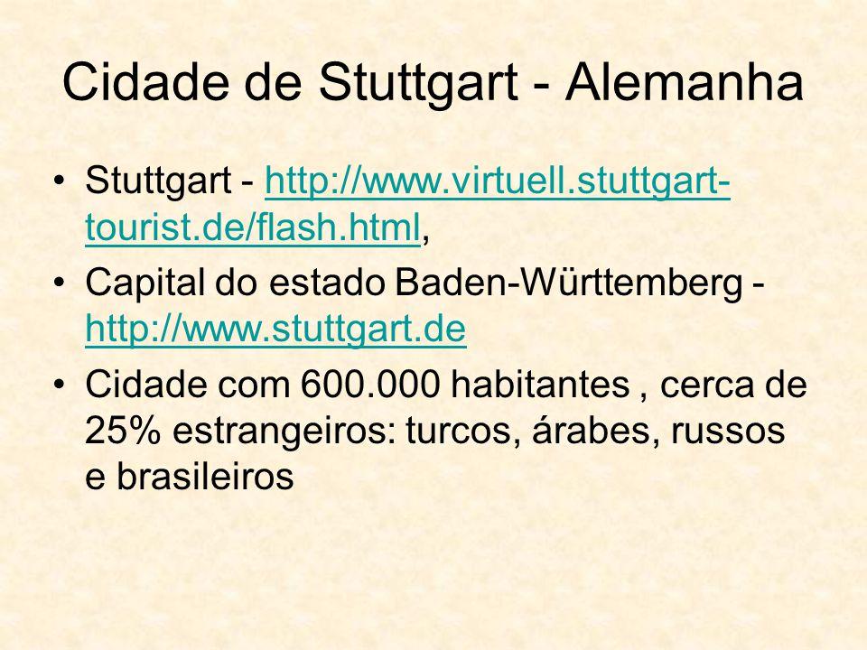 Cidade de Stuttgart - Alemanha