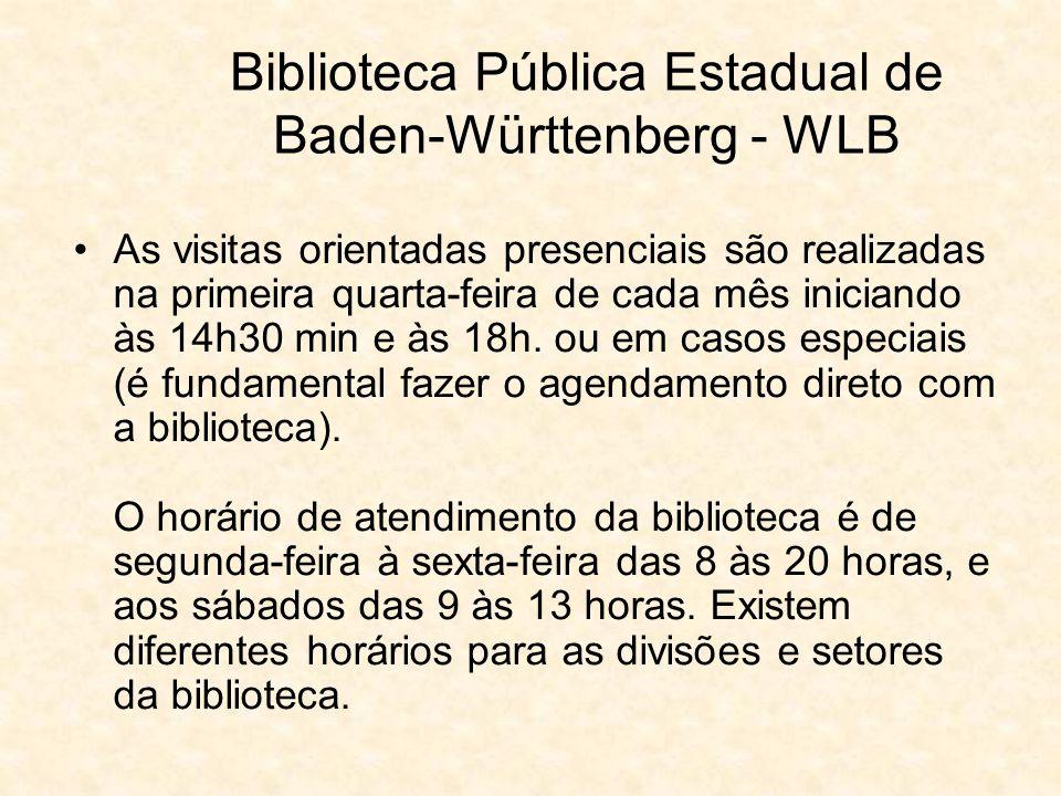 Biblioteca Pública Estadual de Baden-Württenberg - WLB