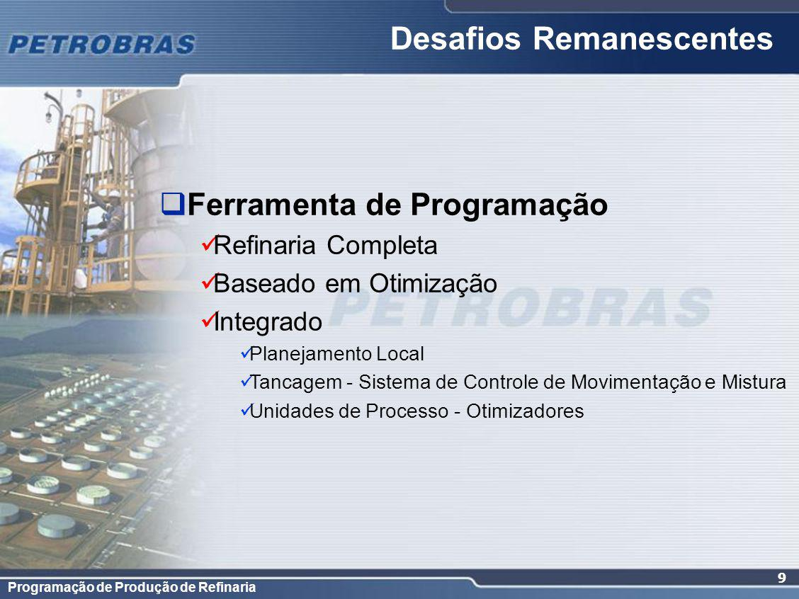 Desafios Remanescentes