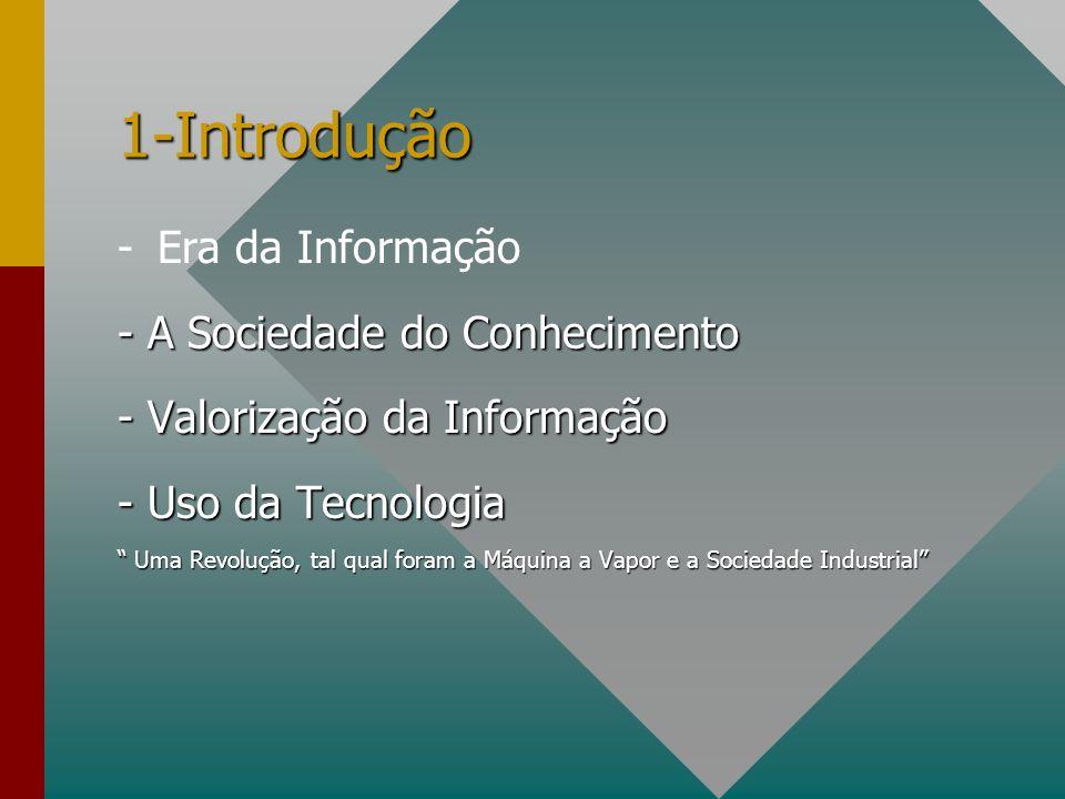 1-Introdução - Era da Informação - A Sociedade do Conhecimento