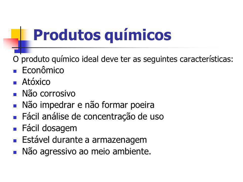 Produtos químicos Econômico Atóxico Não corrosivo