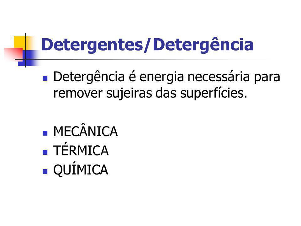 Detergentes/Detergência