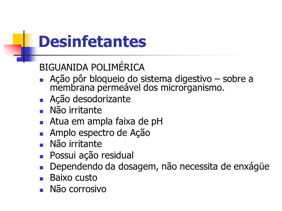 Desinfetantes BIGUANIDA POLIMÉRICA