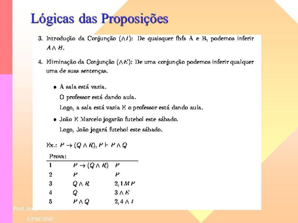 Lógicas das Proposições
