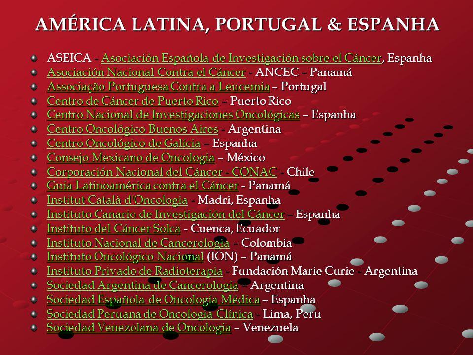 AMÉRICA LATINA, PORTUGAL & ESPANHA