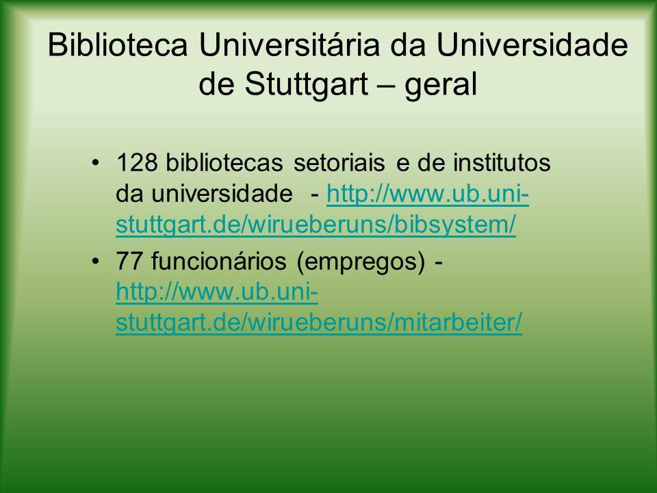 Biblioteca Universitária da Universidade de Stuttgart – geral