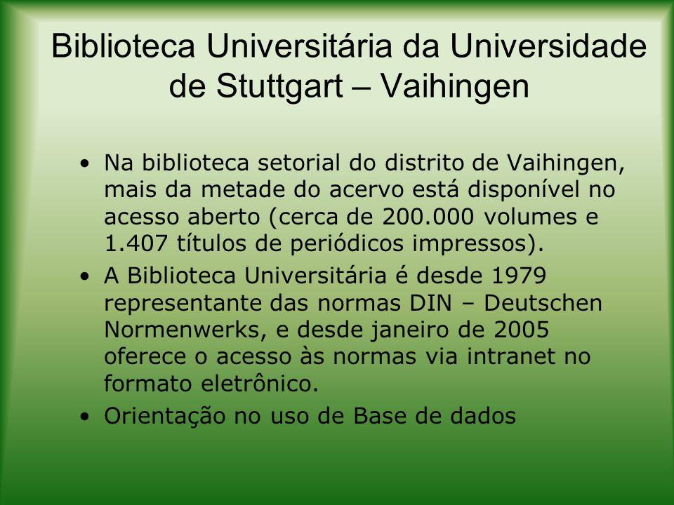 Biblioteca Universitária da Universidade de Stuttgart – Vaihingen