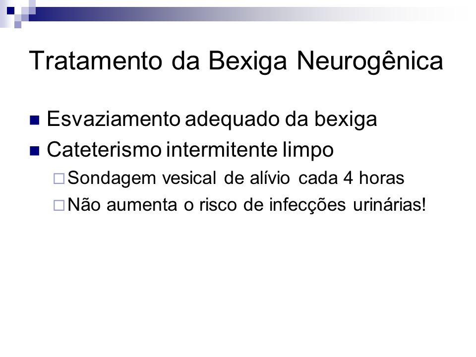 Tratamento da Bexiga Neurogênica