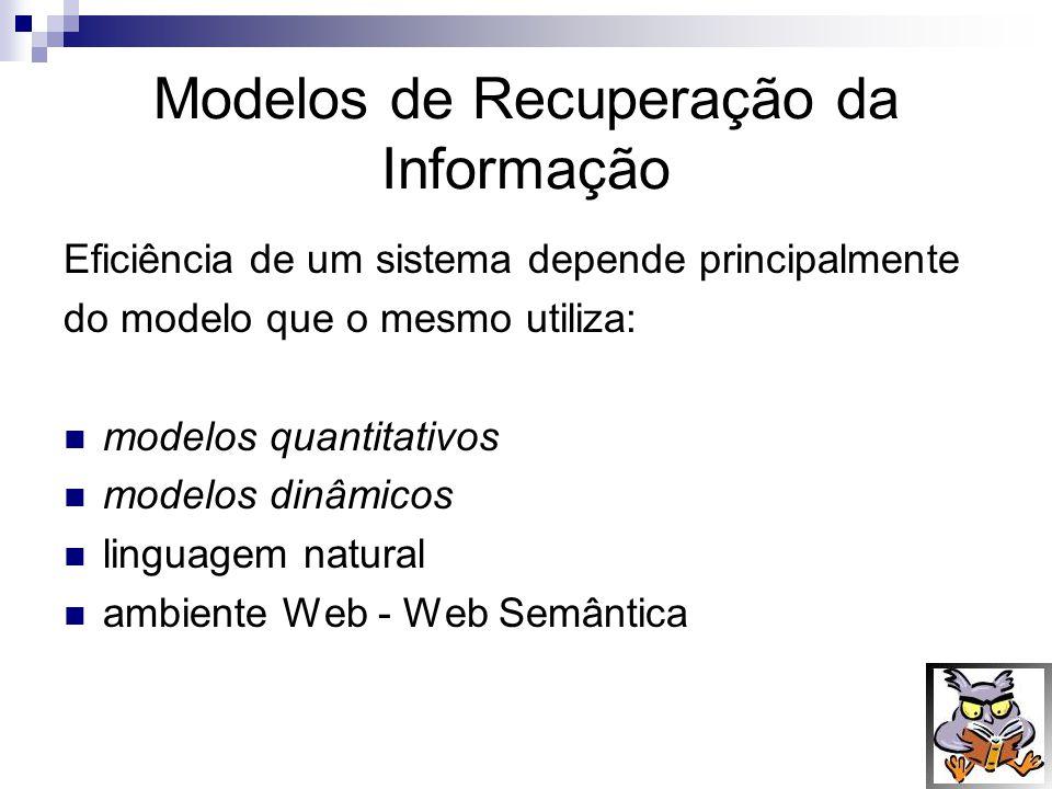 Modelos de Recuperação da Informação
