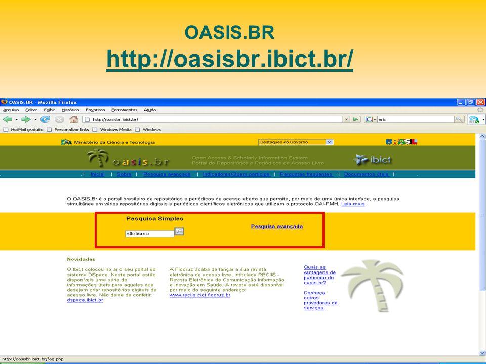 OASIS.BR http://oasisbr.ibict.br/